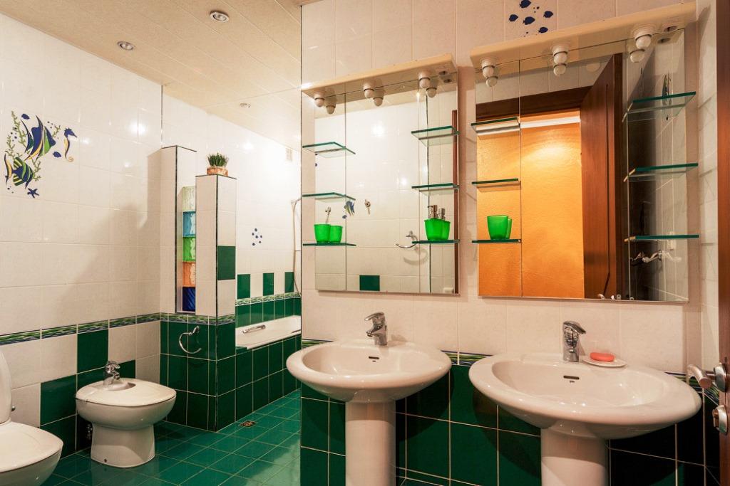 Ванная комната - 2 этаж